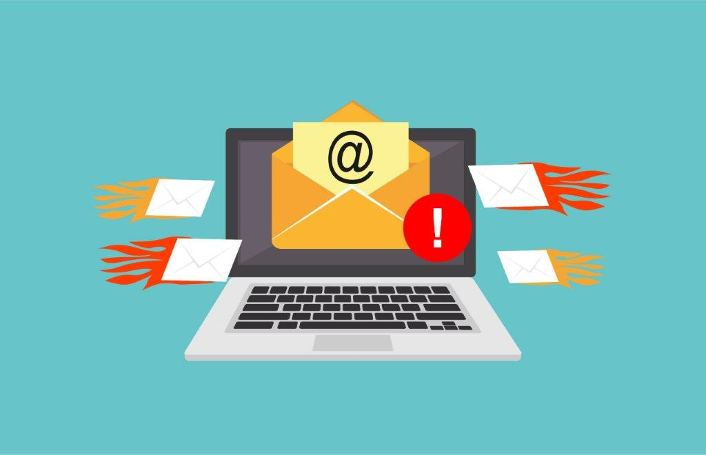 spam email campaign