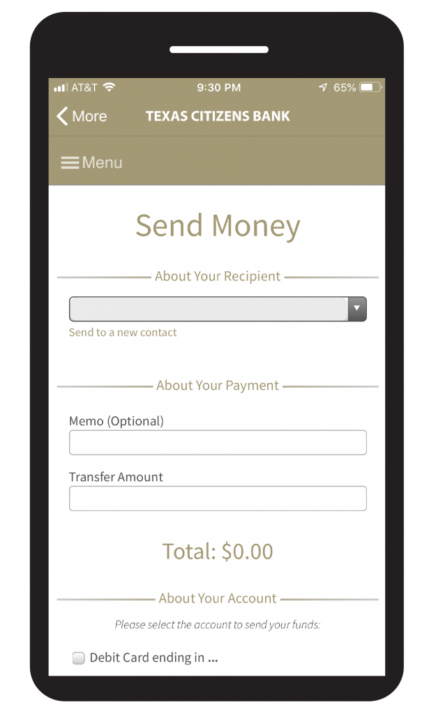 Pay Someone App - Mobile
